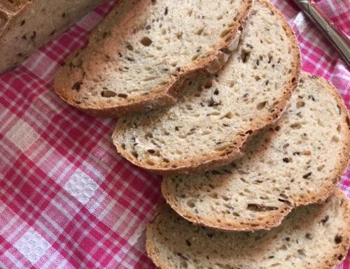 Pane multicereale con lievito madre