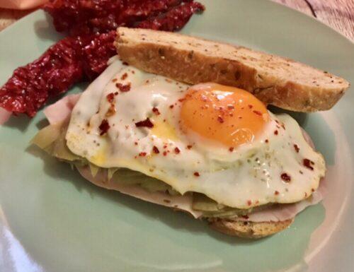 Sandwich fatto in casa