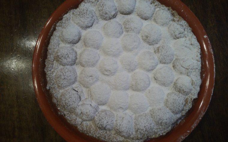 Ricetta crostata di amaretti con crema al cioccolato