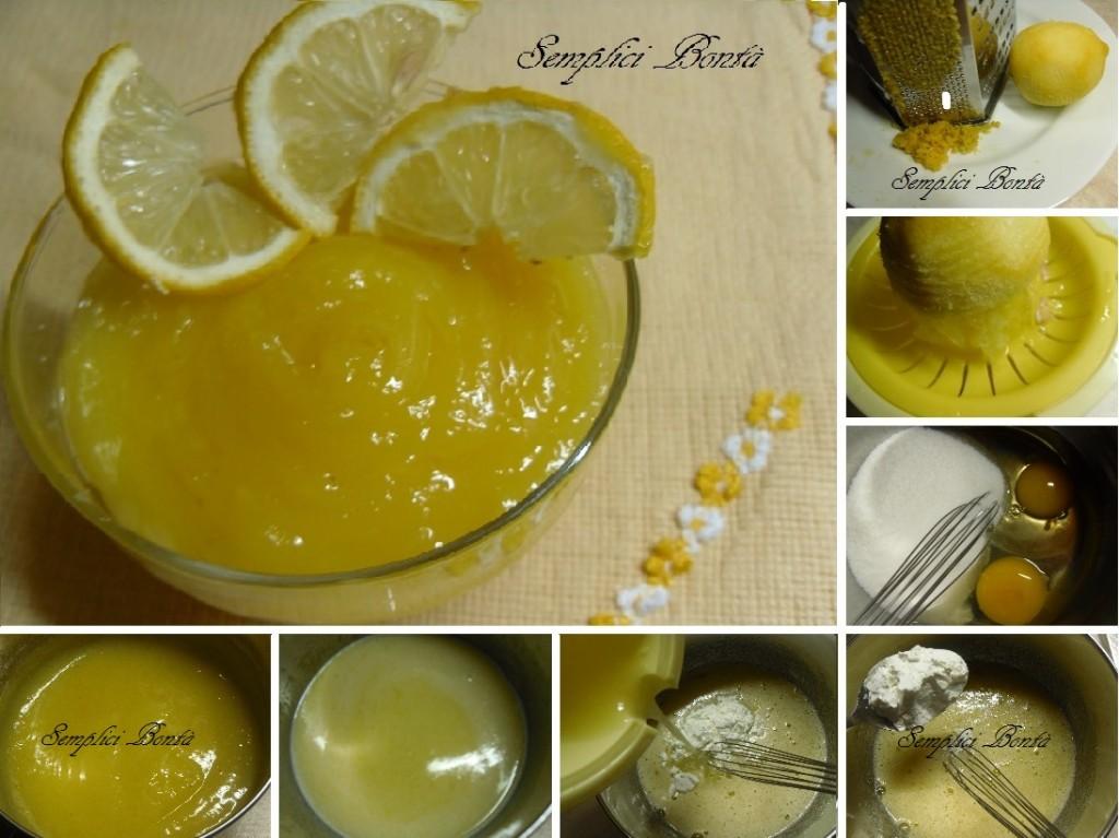crema al limone o lemon curd