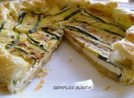 TORTA SALATA STRACCHINO E ZUCCHINE
