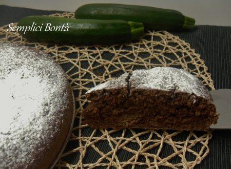 TORTA CIOCCOLATO E ZUCCHINE – ricetta dolce