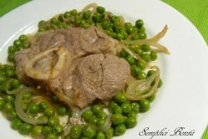 OSSUBUCO CON PISELLI – ricetta di carne