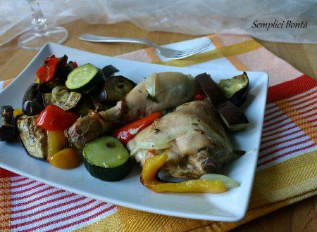 POLLO AL FORNO CON VERDURE – ricetta saporita