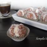 BACI DI AMARETTI CON CAFFE' MASCARPONE E COCCO - ricetta veloce