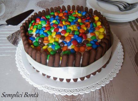 torta compleanno togo e smarties – ricetta facile