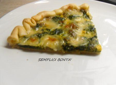 TORTA CON SPINACI – ricetta salata