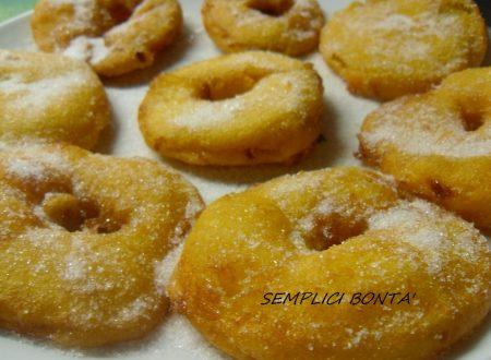 FRITTELLE DI MELE – ricetta dolci di carnevale