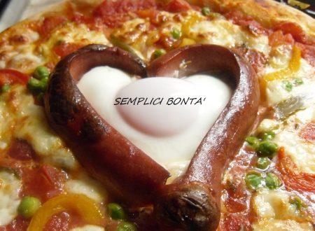 PIZZA CON CUORE – ricetta per San Valentino