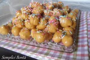 PIGNOLATA O PIGNOCCATA PALERMITANA – ricetta dolci di carnevale