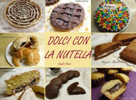 RICETTE ALLA NUTELLA – RACCOLTA DI TORTE E DOLCI