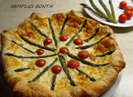 Quiche con asparagi e scamorza – ricetta facile