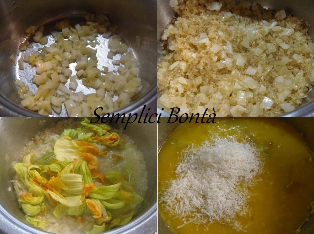 risotto fiori di zucchina