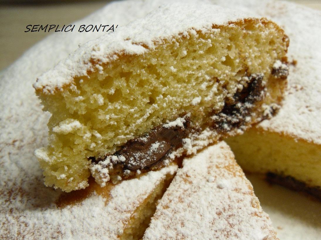 TORTA MORBIDA CON PHILADELPHIA E NUTELLA – ricetta golosa