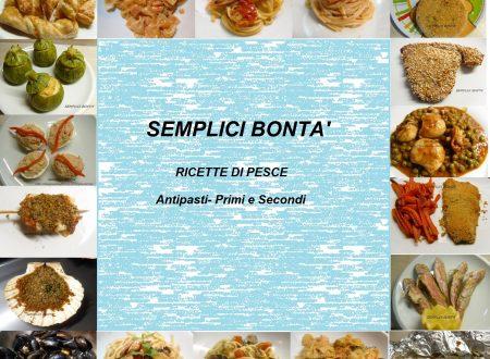 Raccolta di ricette di pesce in pdf