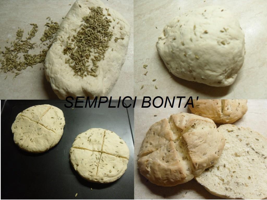 MUFFULETTI - MUFFULETTA - PANE CON SEMI DI FINOCCHIO 2