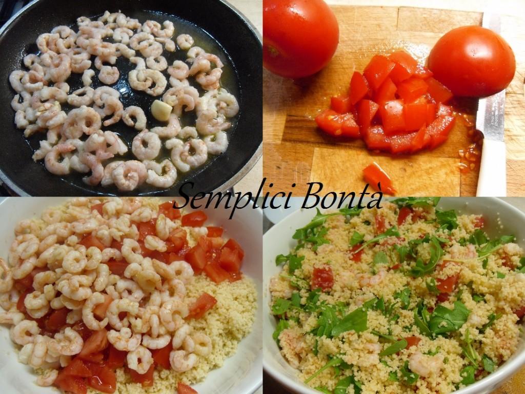 cous cous con gamberetti pomodori e rucola2
