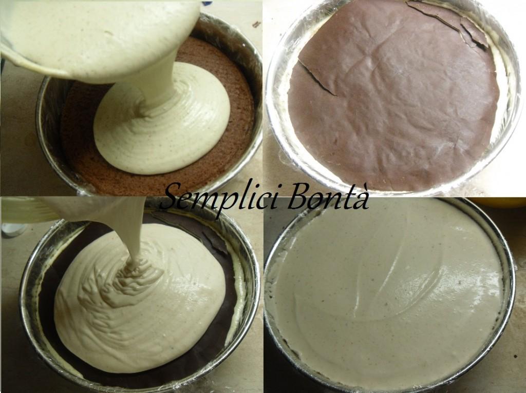 torta semifreddo nocciola e pistacchi 5