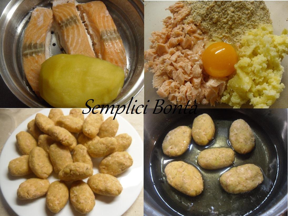 crocchette patata e salmone