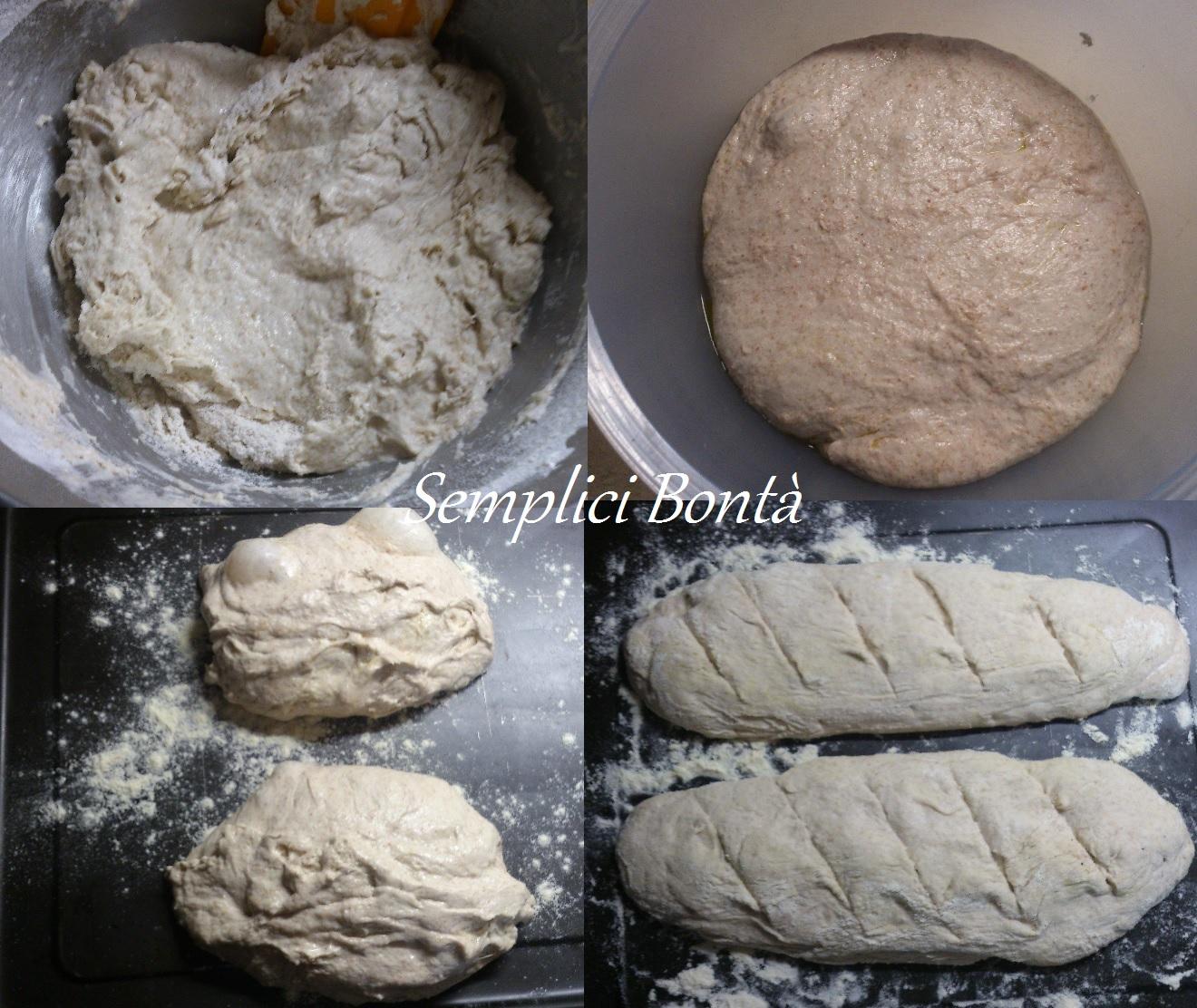 filone con farina 2 e lievito di kefir