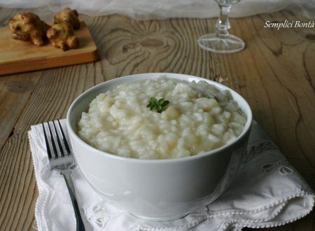 RISOTTO CON TOPINAMBUR LIGHT