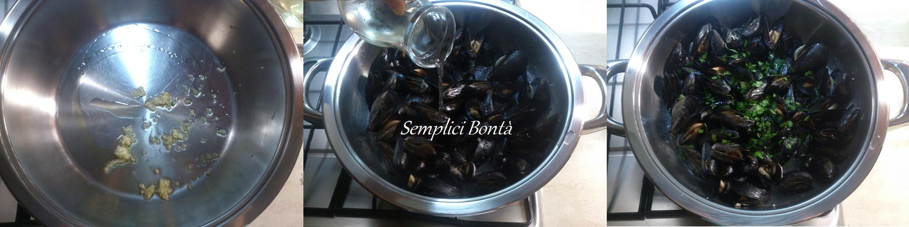 come cucinare le cozze alla marinara ricetta