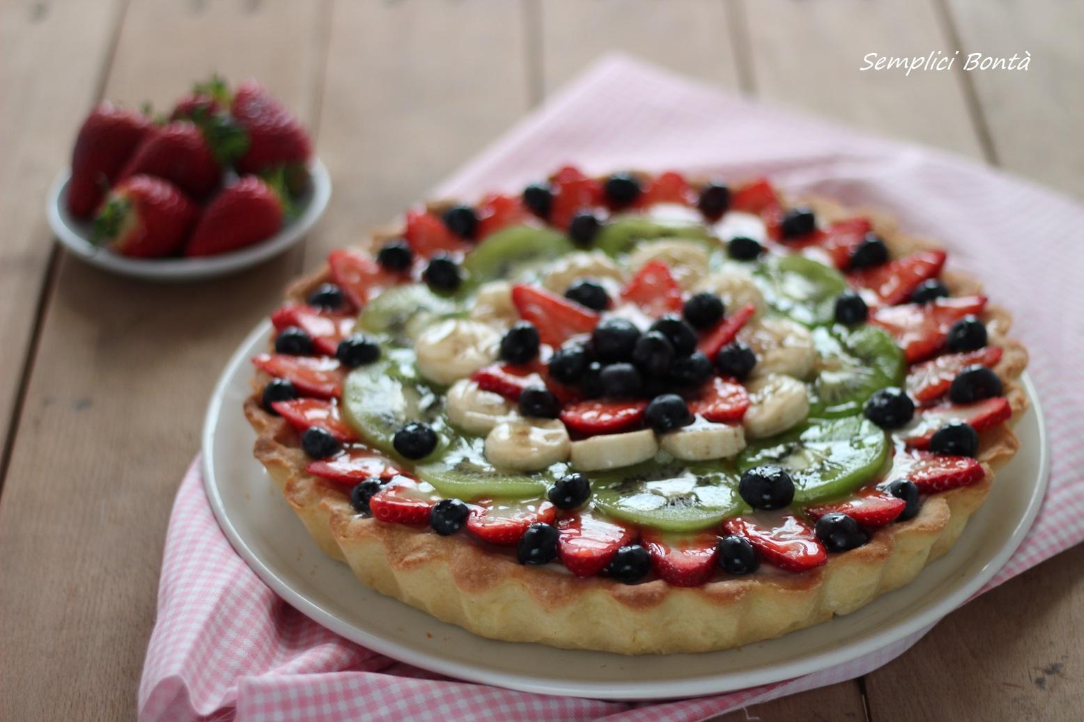 crostata alla frutta fresca