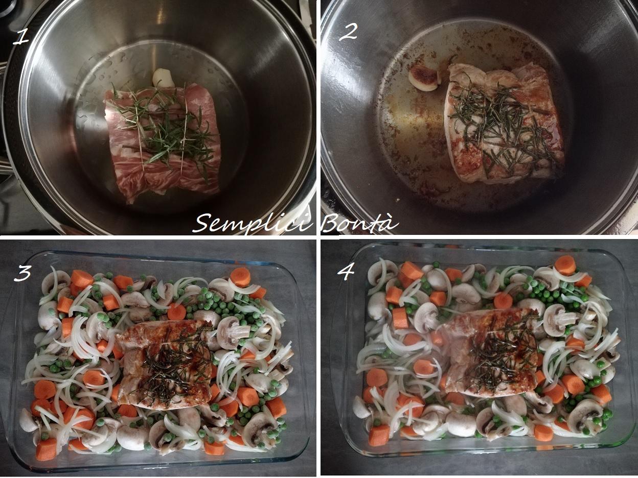 arrosto di lonza di maiale al forno