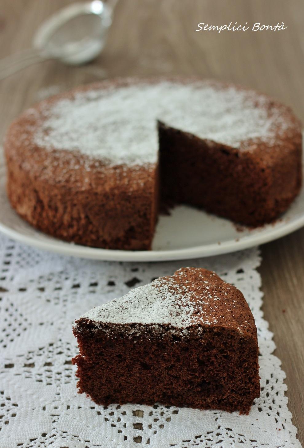 torta margherita al cioccolato