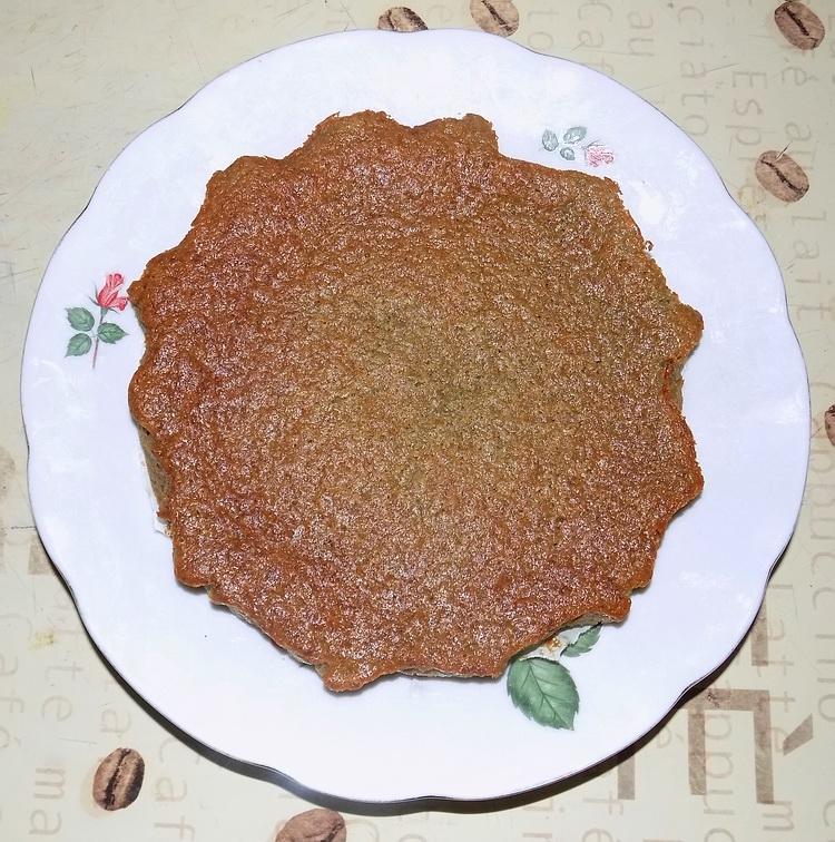 Torta con farina di riso e yogurt alla soya ai mirtilli