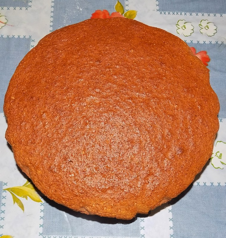Torta con farina integrale e yogurt alla soya