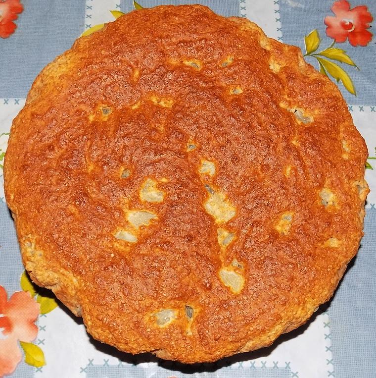 Torta con farina integrale alle pere