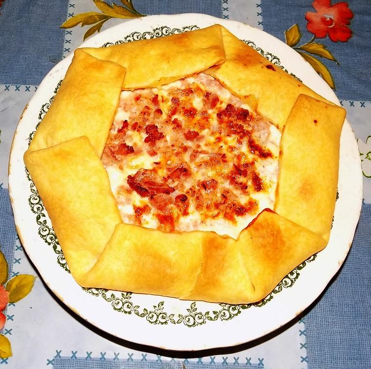 Tortino prosciutto e formaggio
