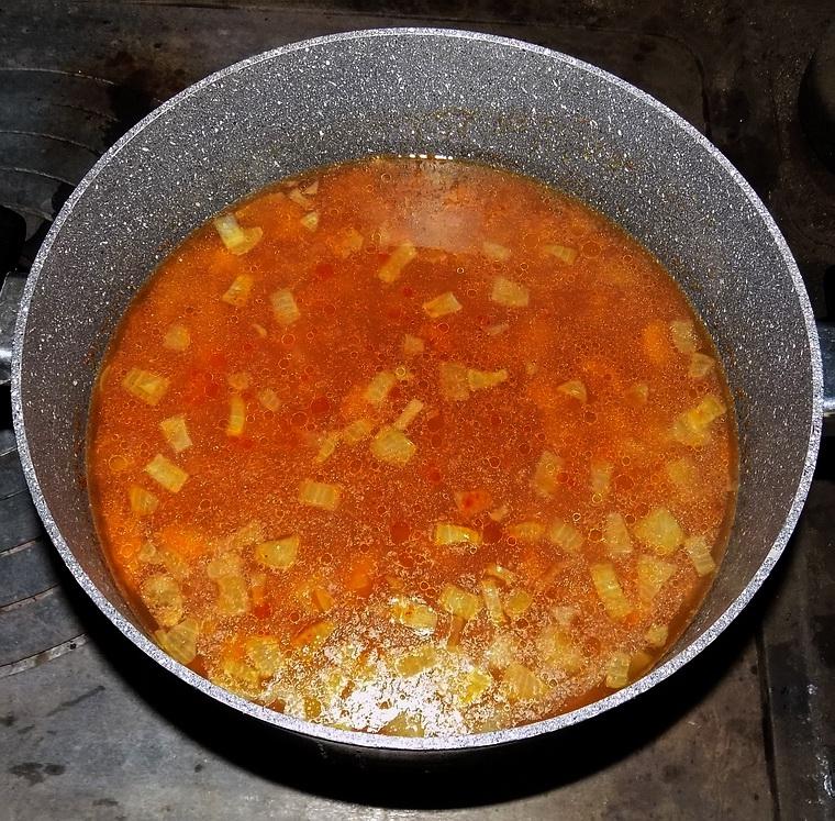 Zuppa di ceci ed orzo
