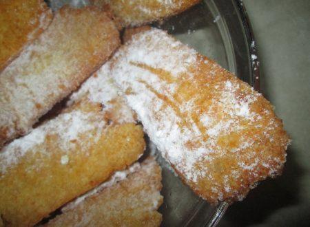 Chiacchiere di carnevale senza glutine, lattosio e uova