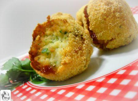 Crocchette Di Merluzzo E Patate Alle Olive