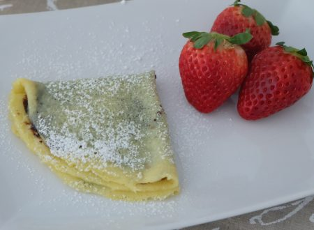 CREPES NUTELLA E FRAGOLE