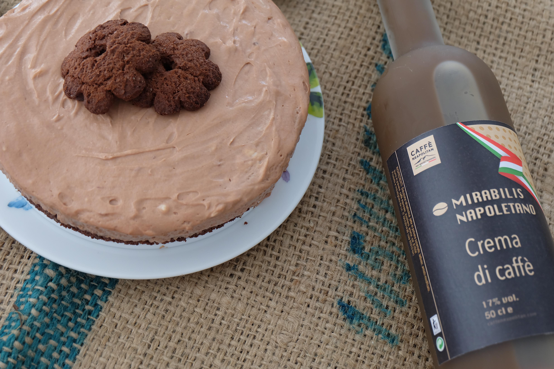 Cheesecake al Caffe e Biscotti al Cioccolato