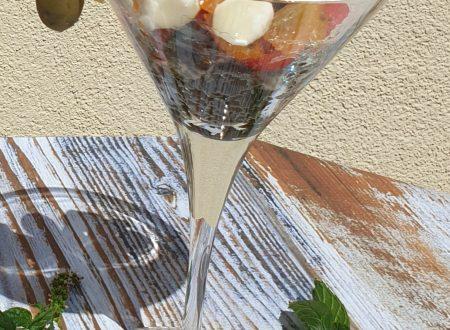 Antipasto in Coppa Cocktail