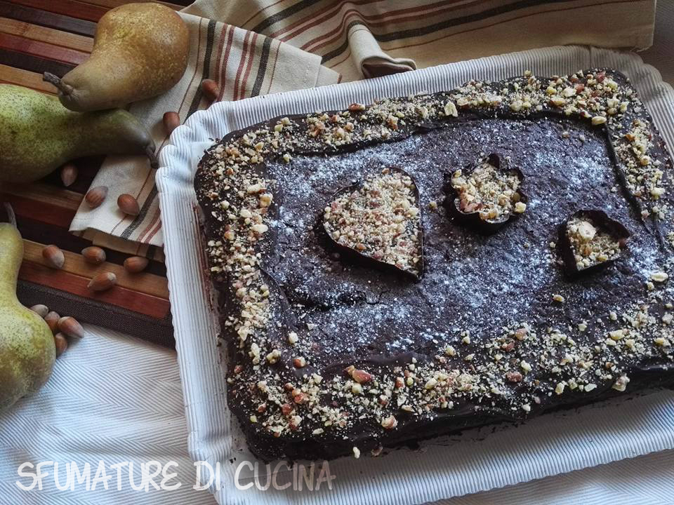 Torta Farcita Cioccolato e Pere