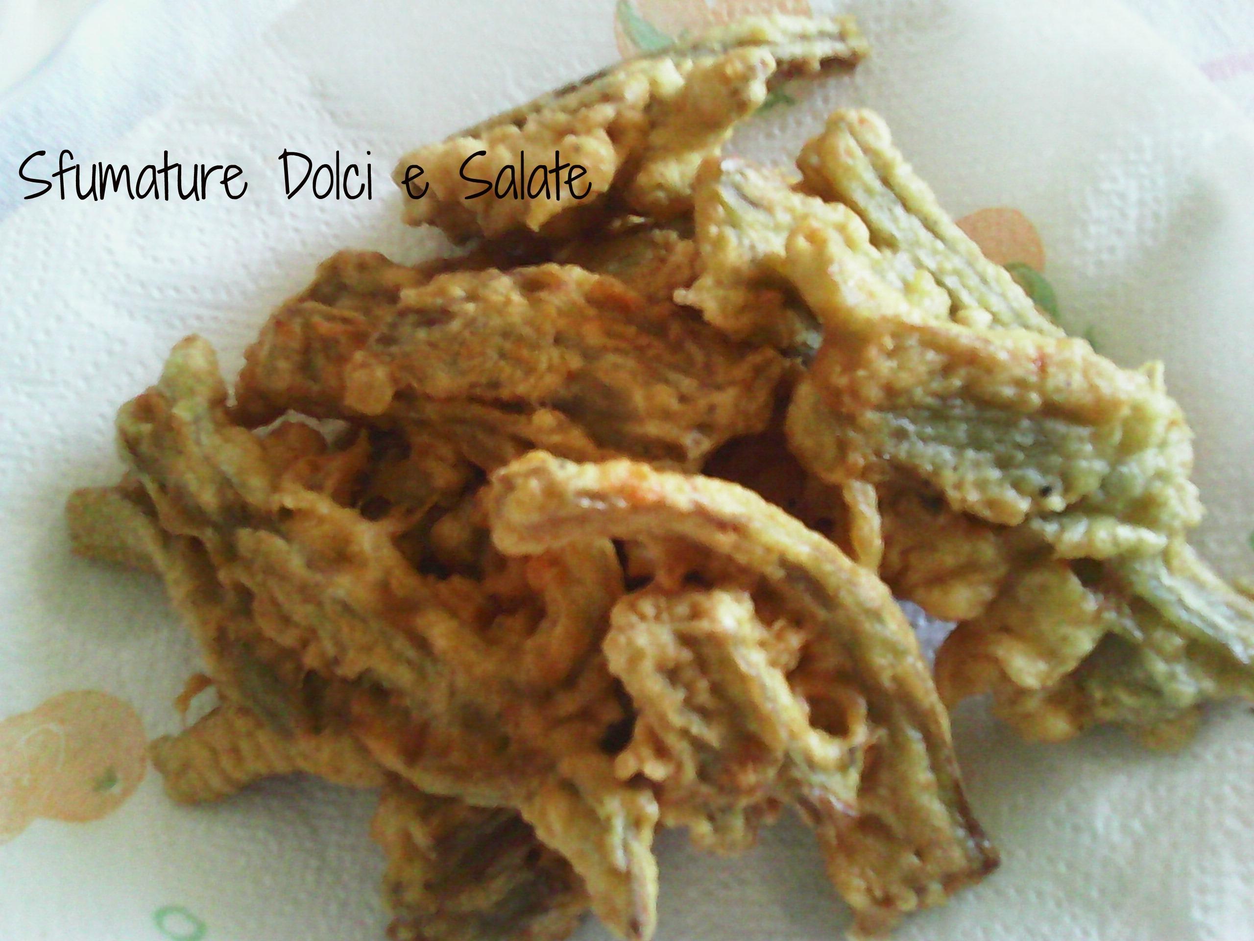 Cardi Fritti in Pastella