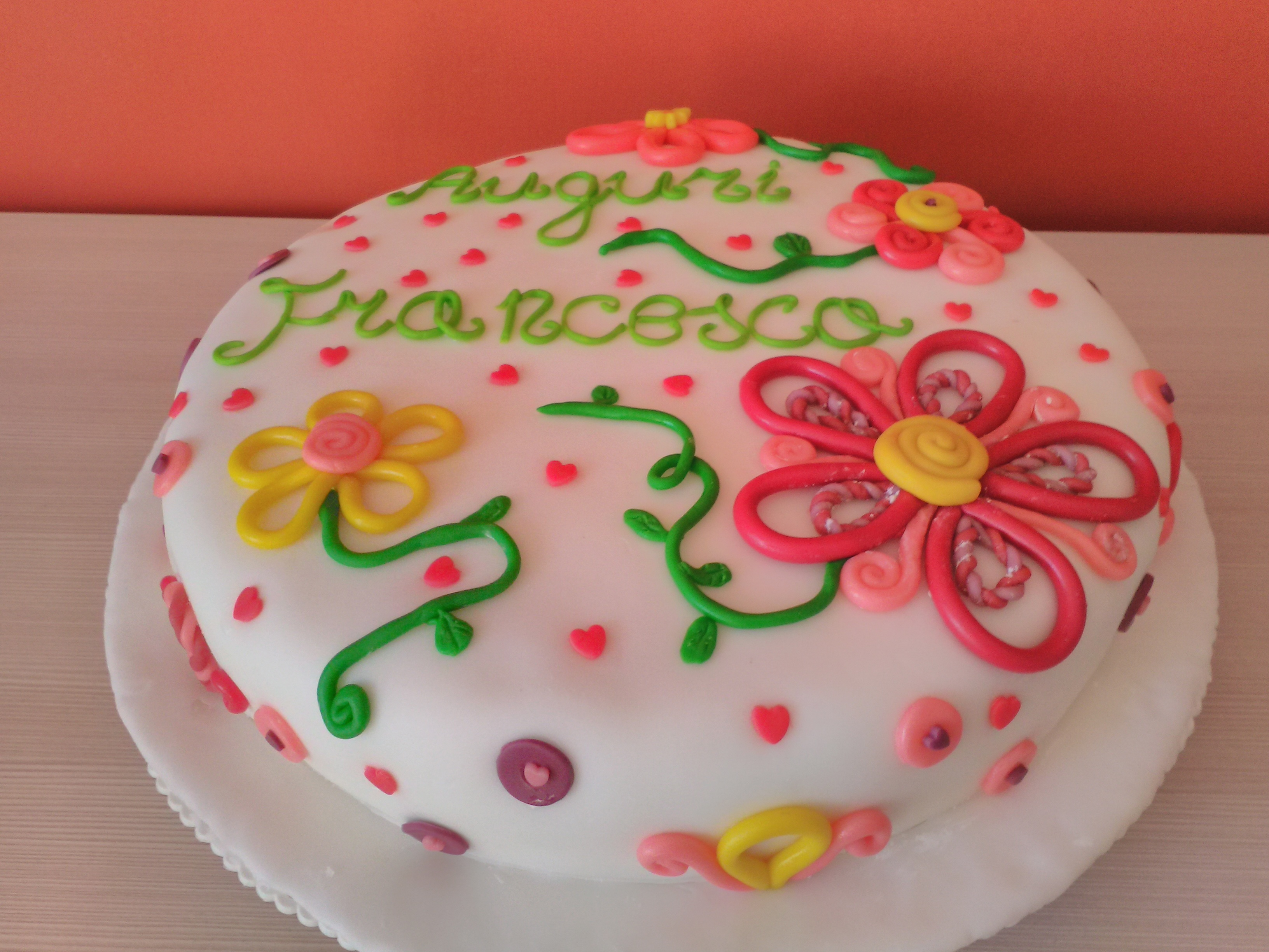 Torta di compleanno sfumature dolci e salate - Torte salate decorate ...