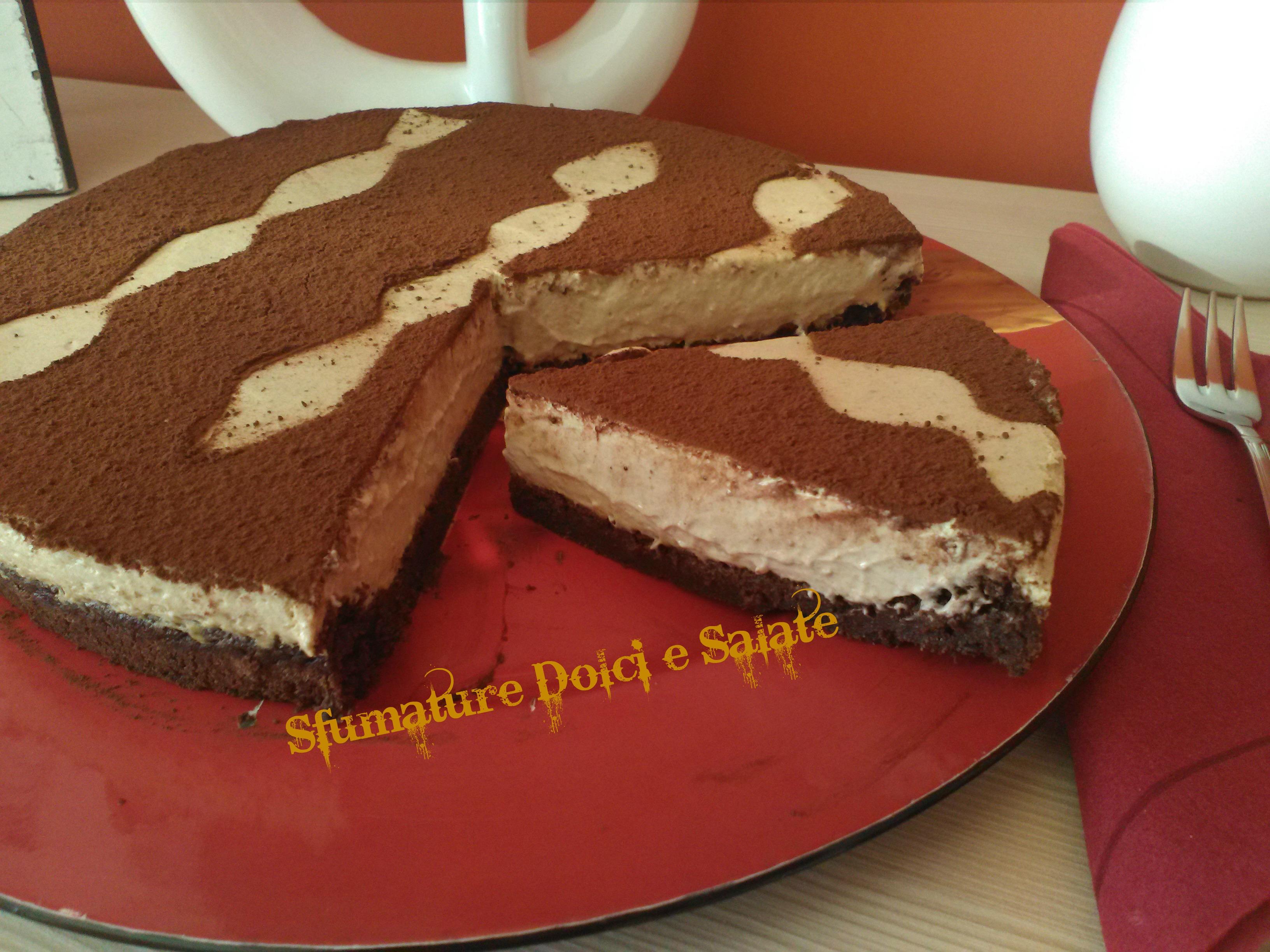 Torta al cioccolato senza farina: con mousse al caffè