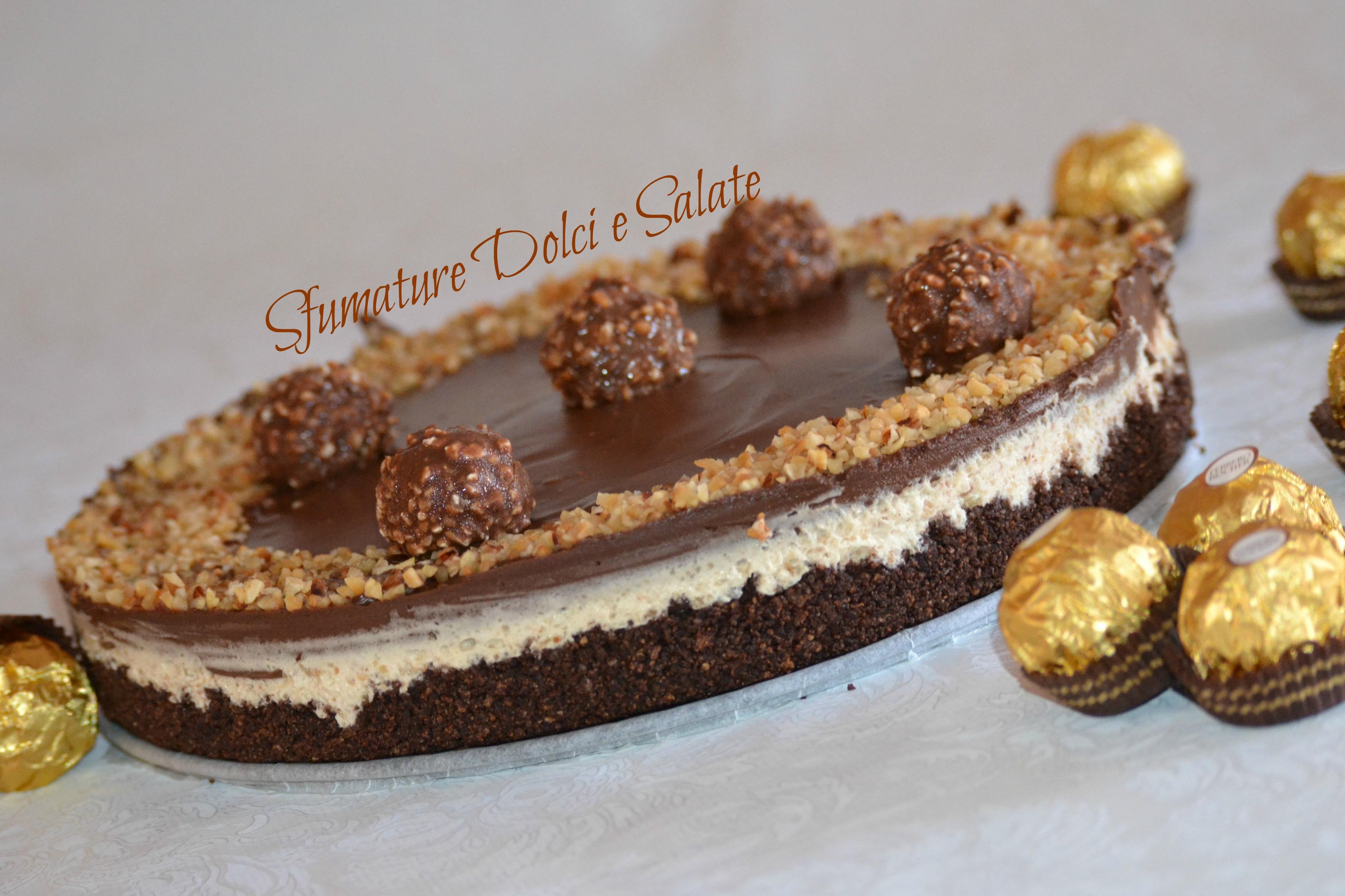 Favoloso Cheesecake Ferrero: ricetta semplice senza cottura – Sfumature  QR52