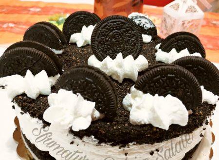 Torta Cheesecake Oreo: senza cottura