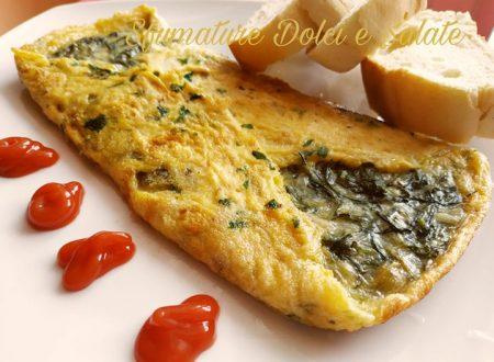 Omelette con Agretti