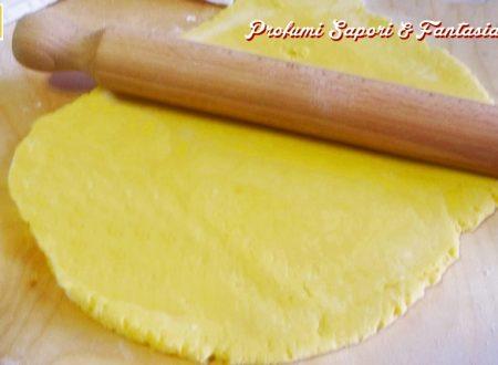 Pasta frolla alle mandorle e Amaretto ricetta