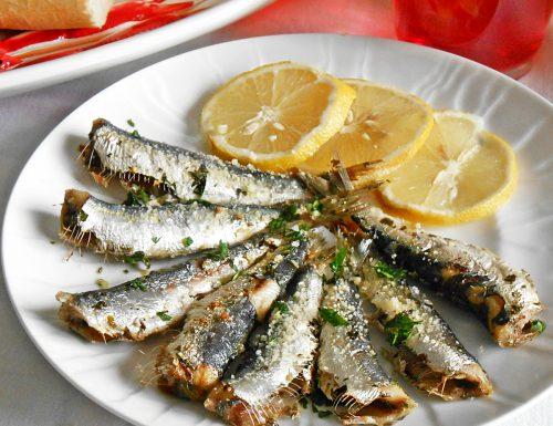 Sarde al forno, una ricetta facile di pesce