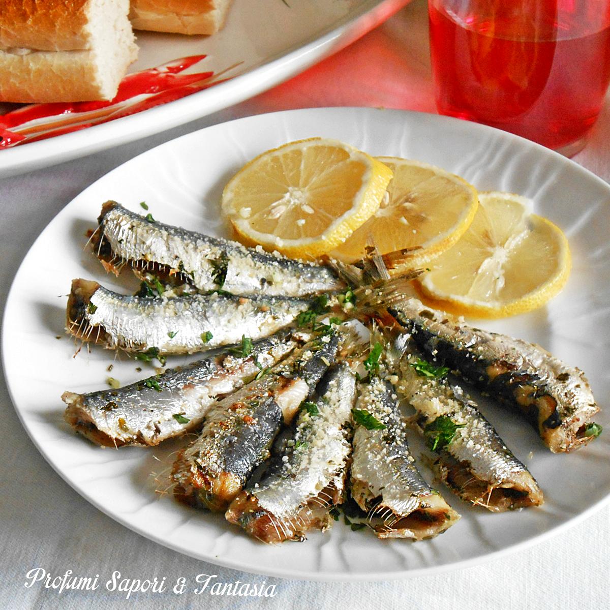 Sarde al forno una ricetta facile di pesce - Ricette con forno a vapore ...