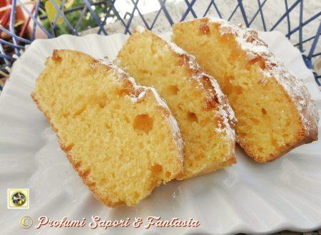 Plum cake ricetta con arancia e cioccolato bianco